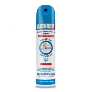 Actoner Hydroalcoholic Spray Solution For Surfaces 400ml
