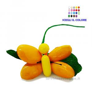 Farfalla gialla Fiore di Confetti William Di Carlo Sulmona - Italy