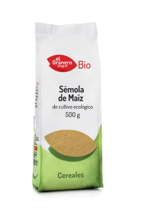 Granero Semola Maiz Biologica 500g