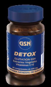 Gsn Detox Glutation 60 Comp