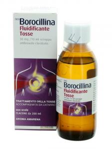 NeoBorocillina Fluidificante Tosse Sciroppo 30 mg - 200 ml-aroma amarena