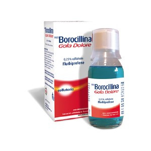 NeoBorocillina Gola Dolore 400 mg 0,25% Collutorio - 160 ml