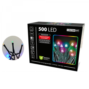 500 Luci Led Multicolore