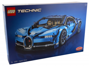 Lego Technic Bugatti Chiron scala 1/8