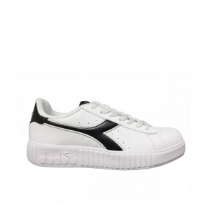 Diadora Game P Step Black White da Donna
