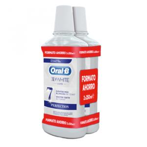 Enjuague Oral-B 3d Luxe500 2x1 Perfection