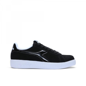 Diadora Game Step Black White da Donna
