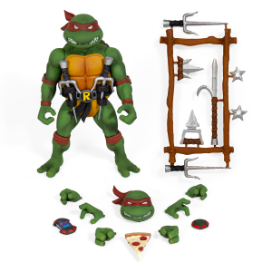 Teenage Mutant Ninja Turtles: Ultimates Action Figure Serie 1 RAFFAELLO by Super 7