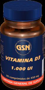 Gsn Vitamina D3 1000ui 90comp