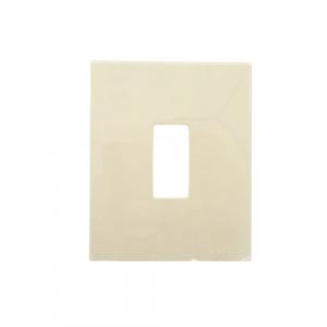 Placca 1 posto resina avorio vimar serie 8000
