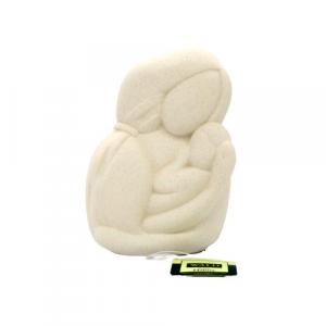 Wald Statua amore materno 36-stone-bia
