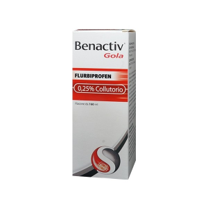 Benactiv Gola 25 mg/ml Collutorio - 160 ml