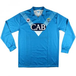 1991-92 Brescia Maglia Match Worn #2 Carnasciali  XL (Top)