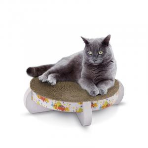 Tiragraffi DUCHESSA in cartone per gatti Ø 34 cm IMAC