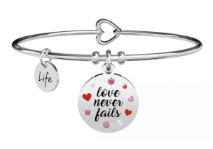 Kidult Bracciale Love, love never fails