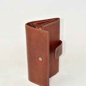 Leather Wallet Brown Cavalcanti