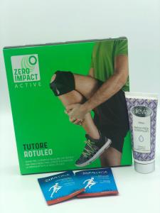 Promo Crema Alevia +Tutore rotuleo Zero Impact