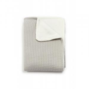 Copertina per culla La Ninna Mini Soft Stone Pearl Grey 100x75 cm