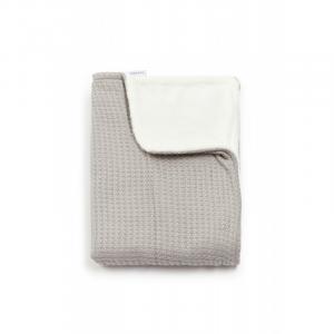 Copertina per culla La Ninna Mini Soft Stone Warm Grey 100x75 cm