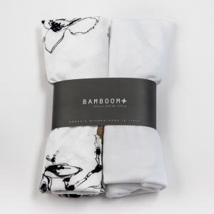Cover coprimaterasso per culla Bamboom Magnolia 2 pezzi