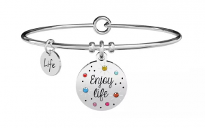 Kidult Bracciale Philosophy, Enjoy life