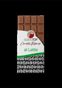 Tavoletta di cioccolato al latte 35%, confezione da gr 80