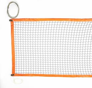 Rete beach tennis con bande in PVC