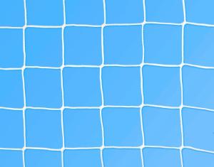 Rete calcio ridotta 5x2 m Ø 3 mm maglia 130 mm