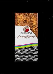 Tavoletta di Cioccolato al Latte 35% e Caramello Salato,confezione da gr 80