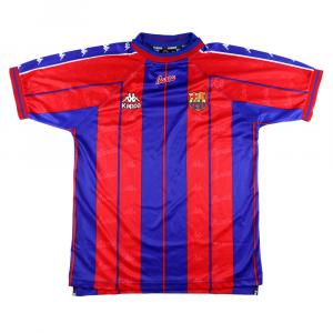 1997-98 Barcelona Maglia Home L (Top)