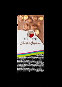 Tavolette di Cioccolato al Latte con Nocciola, 120 gr