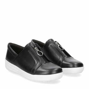 Fitflop New Zip sneaker black leather