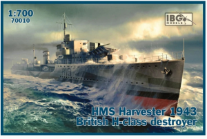 HMS Harvester 1943