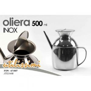 Oliera 500ml INOX