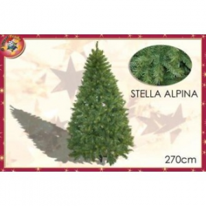 General Trade Albero di Natale Stella Alpina 270 cm Ideale per Addobbi Natalizzi