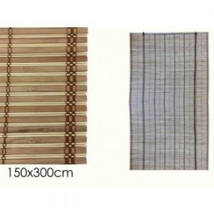Tenda In Bamboo 150x300 cm Colore Effetto Naturale In Legno Per Finestre o Altro Casa