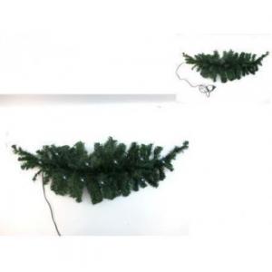 Filo Fuoriporta 90 Cm verde con 10 Led Bianco Freddo Da Interno