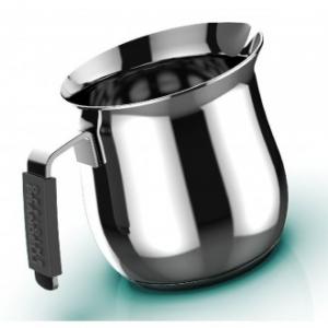 Master Casa Dolcevita Lattiera 6 Tazze Utile Cucina Colazione Acciaio