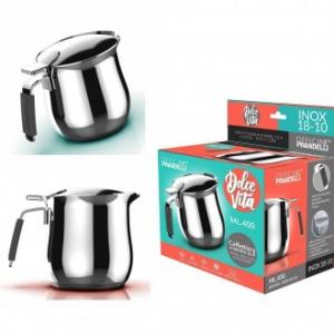 Master Casa Dolce Vita Bricco di 2 Tazze per Latte e Caffè Colazione Cucina
