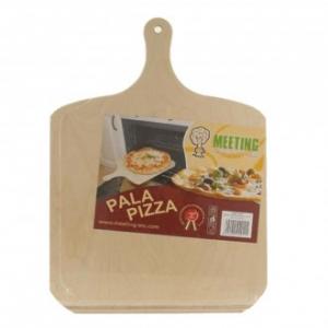 Meeting Pala Pizza 49X36 cm in Legno Ideale per Infornare Pizza A Casa Funzionale