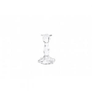 Mercury Portacandela Boheme Cristalleria Elegante 15cm Decorato e Rifinito Con Striature Sublime