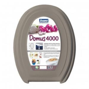 Bama Domus 4000 Sedile CopriWater Per WC Color Tortora Adatto alla Forma e Funzionale Per Servizi Igienici Bagno