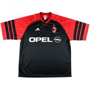 1999-00 Ac Milan Maglia Allenamento XL (Top)