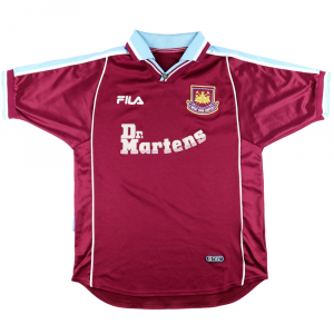 1999-01 West Ham Maglia Home M (Top)