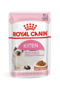 ROYAL CANIN CAT SECOND AGE KITTEN BUSTE GRAVY/BOCCONCINI IN SALSA 85gr