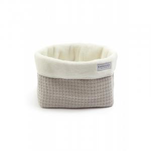 Beauty case Cestino porta oggetti Store Bag Soft Stone Pearl Grey