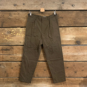 Pantalone Bakery Sike Corsaro In Cotone Eco Friendly E Pence Marrone