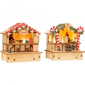 Bancarelle di Natale Crepes e dolciumi