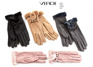 Guanti con pelliccia ecologica | Vendita online guanti donna