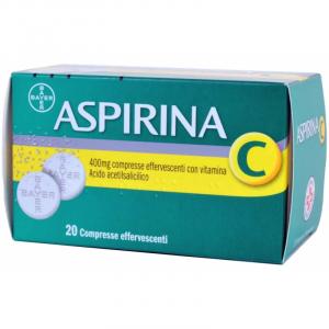 Aspirina C 400 mg + 240 mg - 20 compresse effervescenti